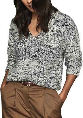 Reiss Flo Wool-Blend Sweater