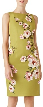 Hobbs London Moira Floral Print Shift Dress