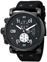 Vestal Men's OBCS011 USS Observer Chrono Analog Display Japanese Quartz Black Watch