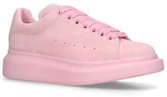 Alexander McQueen Suede Runway Sneakers