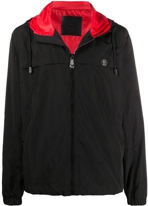 Philipp Plein Skull Print Hooded Jacket