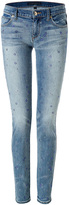 Juicy Couture Steve Skinny Jeans with Floral Embellishment