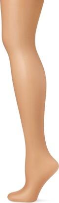 Pretty Polly Women's Naturals - 8D Sandal Toe Tights