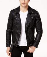 Ring of Fire Men's Retro Faux Leather Jacket, Created for Macy's