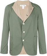 Comme des Garcons contrast blazer - men - Cotton - XS