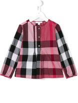 Burberry house check shirt - kids - Cotton - 4 yrs