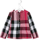 Burberry house check shirt - kids - Cotton - 6 yrs