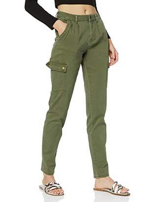 Noisy May NOS DE Women's Nmbronx Nr Cargo Relaxed Pants Noos Trouser,(Size: X-Large)