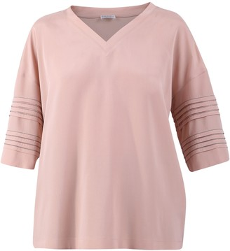 Brunello Cucinelli Oversize V-Neck Top