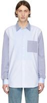 Burberry Blue Striped Chelmsford Shirt