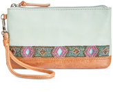 The Sak Embellished Sanibel Wristlet with Charger