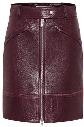 Kenzo Leather miniskirt