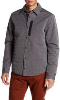 Original Penguin Quilted Space Dye Long Sleeve Shirt