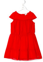 Armani Junior flared dress - kids - Cotton/Polyester/Spandex/Elastane/Modal - 5 yrs