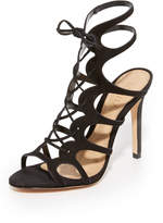 Schutz Laurine Wrap Sandals