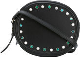 No.21 studded cross-body bag - women - Leather - One Size