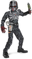 Disguise Gray Recon Commando Muscle Dress-Up Set - Kids