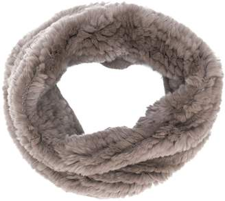 Yves Salomon Accessories knitted snood