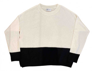 Johnstons of Elgin Ecru Cashmere Knitwear