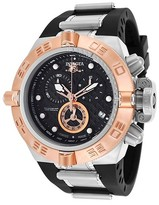 Invicta Men's 16141 Subaqua Quartz Chronograph Black Dial Strap Watch - Black