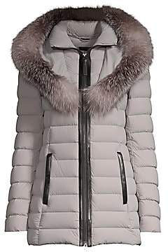 Mackage Women's Kadalina Fox Fur-Trimmed Down Jacket