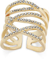 INC International Concepts Gold-Tone Pavé Interlocking Ring, Only at Macy's