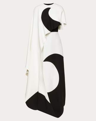 Valentino Cady Couture Inlay Dress Women Ivory Silk 100% 38