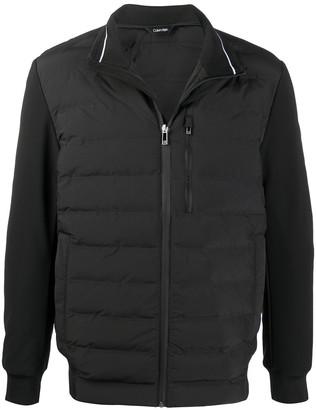 Calvin Klein Panelled Padded Jacket