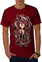 Medusa Queen Snake Men XXXL T-shirt | Wellcoda