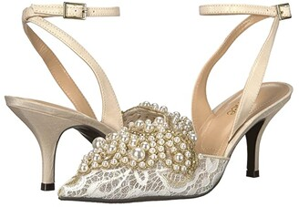 J. Renee Desdemona (Ivory/White Pearls) High Heels