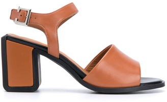 Clergerie Klara leather sandals