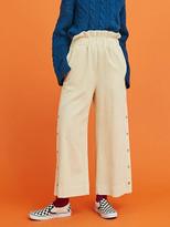 Ivory Corduroy Pants - ShopStyle