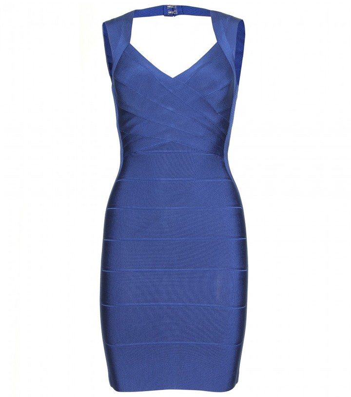 Herve Leger SAFARI BANDAGE DRESS
