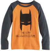 "Jumping Beans Boys 4-10 Jumping Beans® DC Comics Batman ""This Is My Halloween Costume"" Raglan Tee"