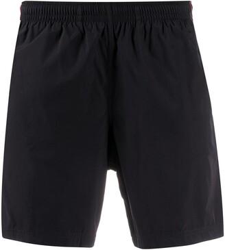 Alexander McQueen Side Tape Swim Shorts