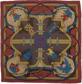 One Kings Lane Vintage Hermès Grande Tenue Pochette Scarf w/Box