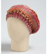 Laundry by Shelli Segal pink multi color metallic blend beret