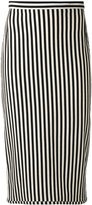 Hache striped skirt - women - Cotton - 40