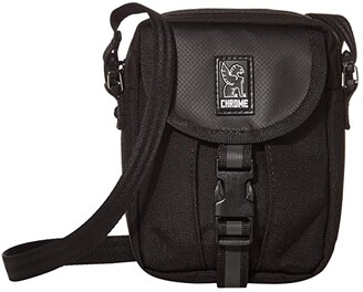 Chrome Shoulder Accessory Pouch (All Black) Bags