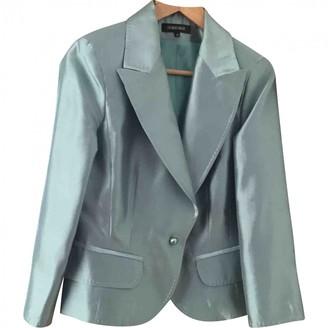 Georges Rech Green Silk Jacket for Women