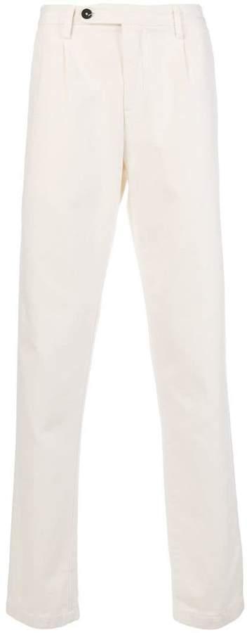 Massimo Alba straight-leg trousers