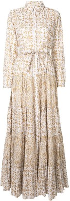 Mes Demoiselles Baroque Print Day Dress