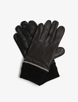 Ted Baker Quirky leather gloves