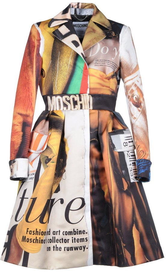 Moschino Overcoats - Item 41788634