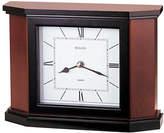 Bulova Holyoke Wood Mantel Clock