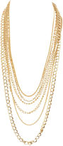 One Kings Lane Vintage '80s Statement Multi-Chain Necklace