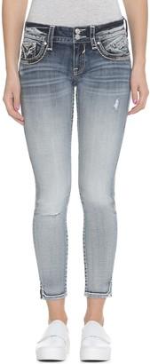 Vigoss Women's Chelsea Skinny Jean Light White 25