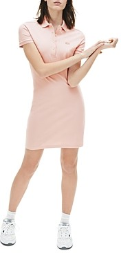 Lacoste Stretch Cotton Pique Polo Dress