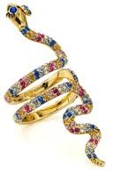 Kate Spade Pavé Snake Cocktail Ring