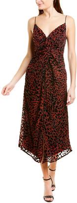 Misha Collection Harpa Midi Dress